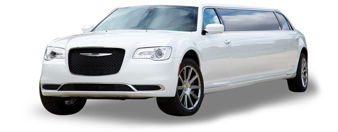 Chrysler 300 Stretch (White)